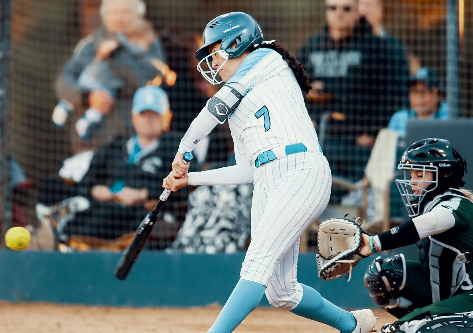 Sara Silveyra is the top returning offensive performer on the 2020 USD softball team.