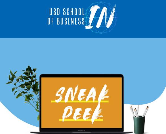 USD School of Business IN: Sneak Peek