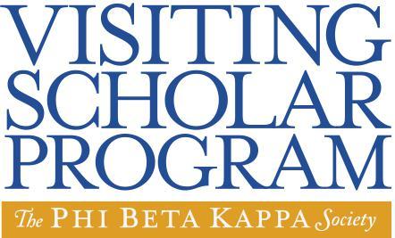 Phi Beta Kappa Visiting Scholar Program