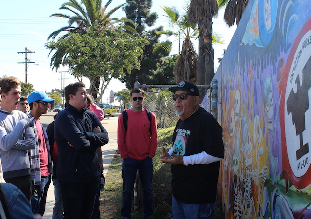 Professor of Practice Rigo Reyes shares the history of Chicano Park