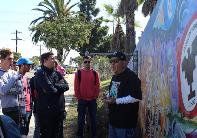 Professor of Practice Rigo Reyes shares the history of Chicano Park