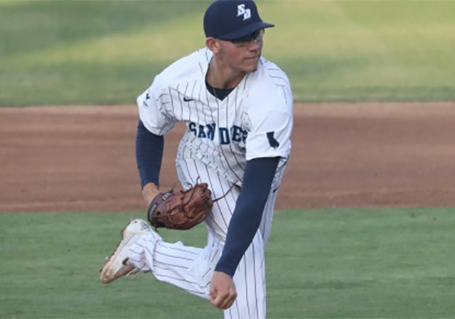 Nick Sprengel, USD baseball pitcher