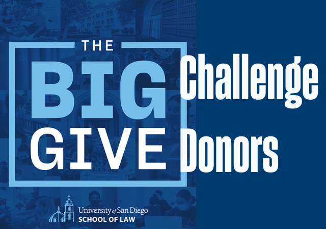 Big Give Challenge Donors