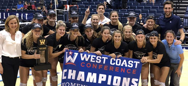 The USD women's volleyball team, which captured the West Coast Conference title, will make the program's 21st appearance in the NCAA Tournament. USD plays LSU at 5 p.m. Friday at USC's Galen Center.