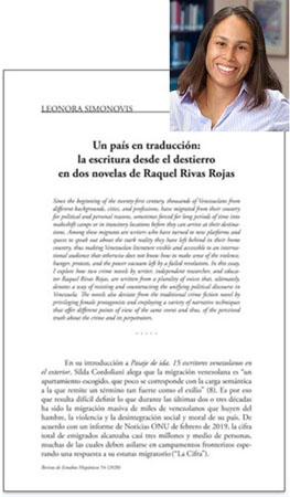 simonovis photo and picture of first page of article