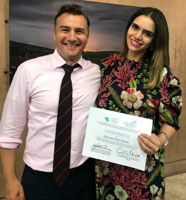 Kroc TBI's Ev Meade and CEDHBC's Ana Celina Araiza