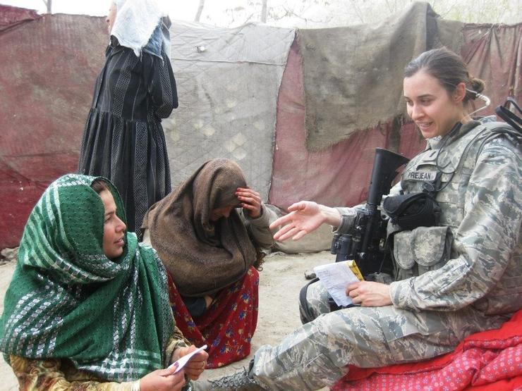 Prejean in Afghanistan