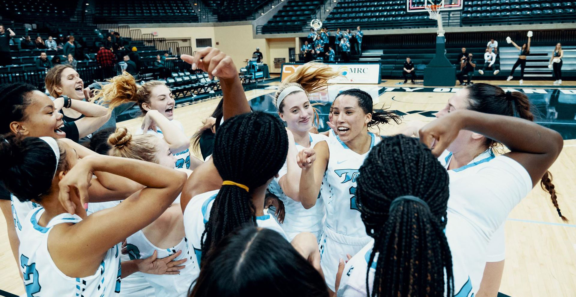 The USD women's basketball team had a strong 2019-20 season, even if it was cut short by the COVID-19 coronavirus pandemic. Myah Pace reflects on the season and her desire to win again.