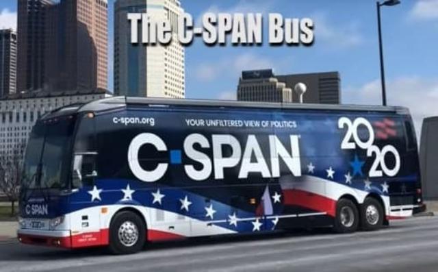 C-Span Campaign Bus