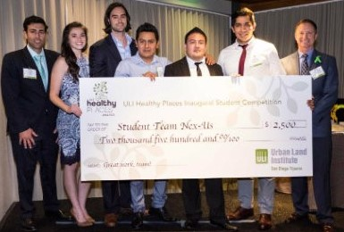 Health Places Student Competition Winning Team
