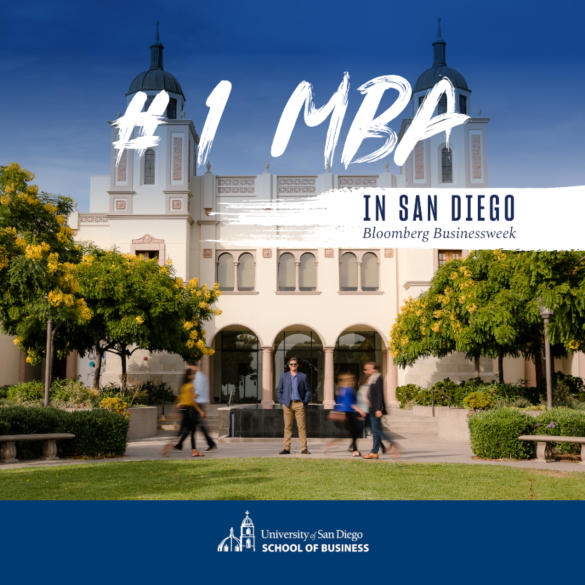 #1 MBA in San Diego by Bloomberg Businessweek