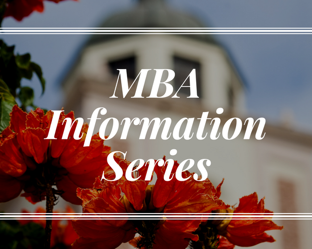 MBA Info series