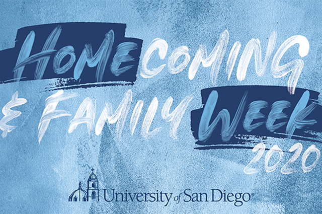 The 2020 USD Homecoming and Family Week is a virtual festival of events