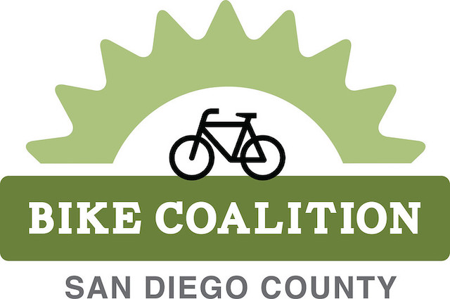 San Diego County Bike Coalition green logo