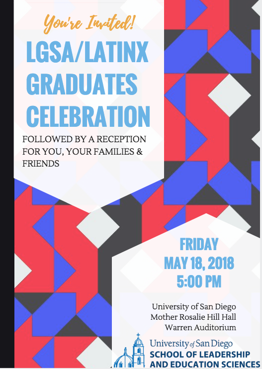 Latinx Graduates Celebration flyer