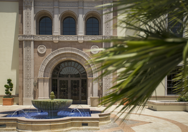 Exterior of Mother Rosalie Hill Hall at USD