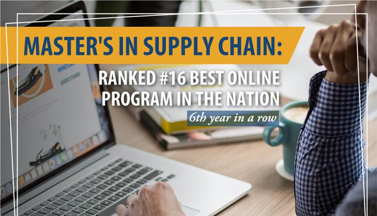 The University of San Diego School of Business' Master's in Supply Chain Management is ranked among the Top 20 nationally for the sixth straight year.