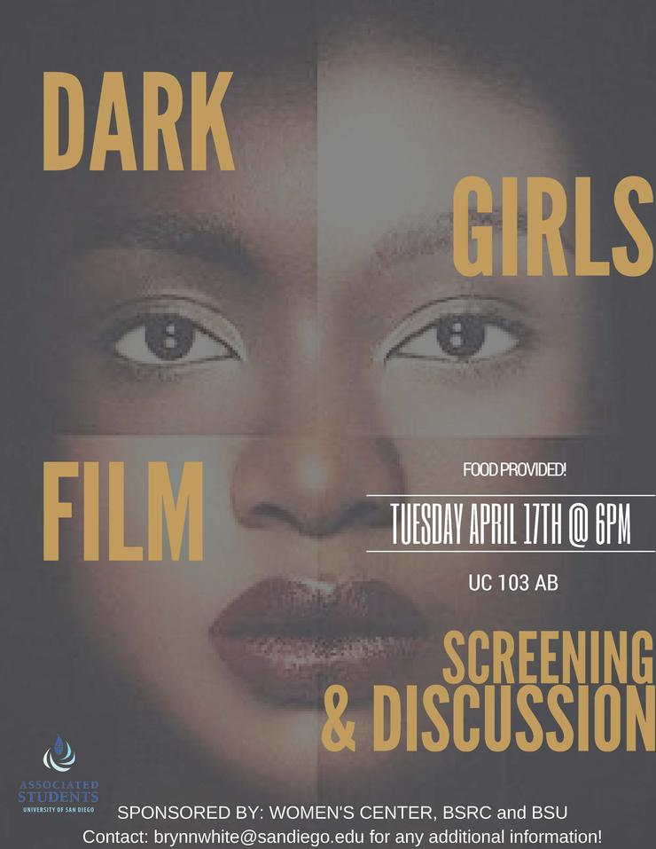 Black Girls Film Screening & Discussion Flyer