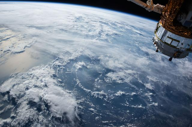 Earth satellite photo