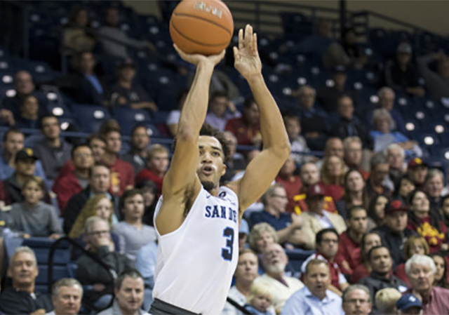 Olin Carter III, USD men's basketball