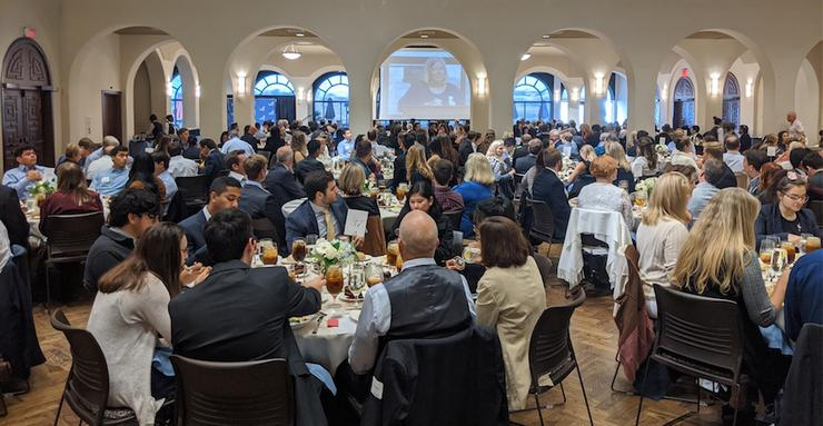 The Shiley-Marcos School of Engineering and the Computer Science Department feted the 2019-20 graduating students at the Dec. 5 Engineering and Computing Senior Banquet.