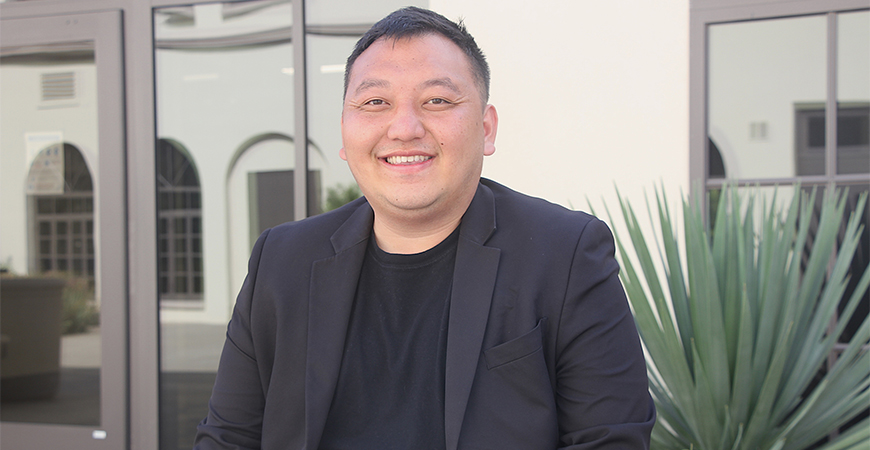 Alumnus Sou Fang has returned to USD as director of Upward Bound, a program that seeks to help Kearny High students develop and succeed in higher education. Fang is a USD Upward Bound alumnus, too.