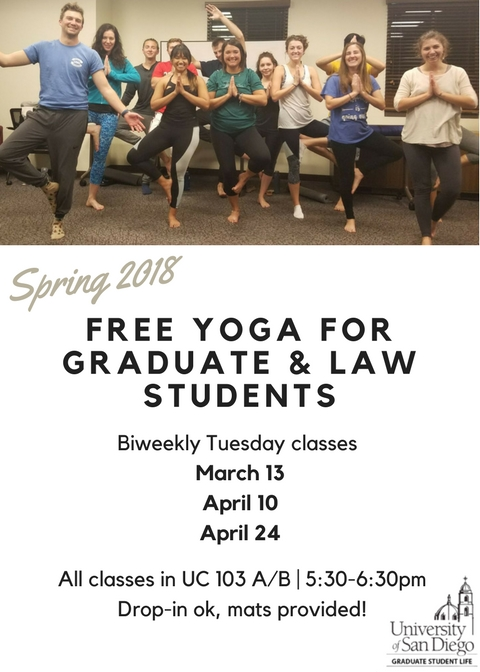 Flyer for Evening Yoga