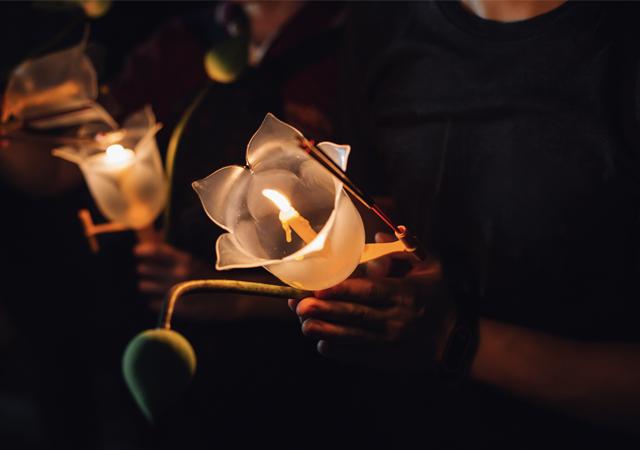 Vesakha Candle
