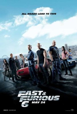 Fast 6 Movie Poster