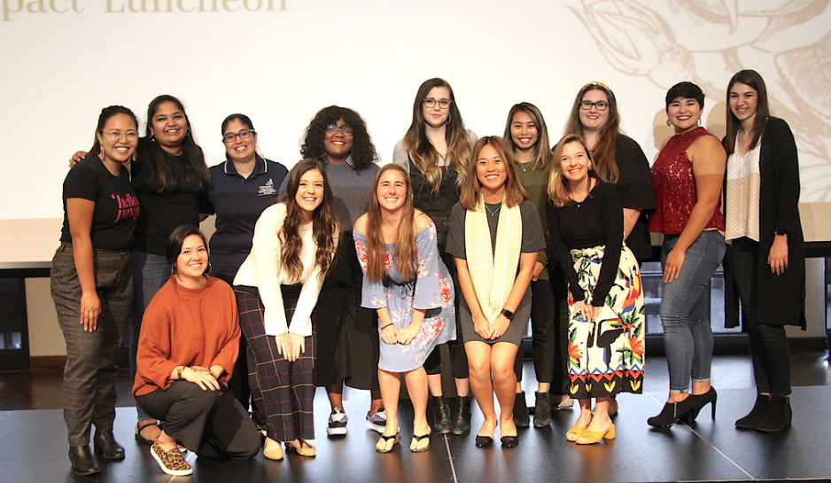 SOLES Students honored at the Women of Impact Luncheon