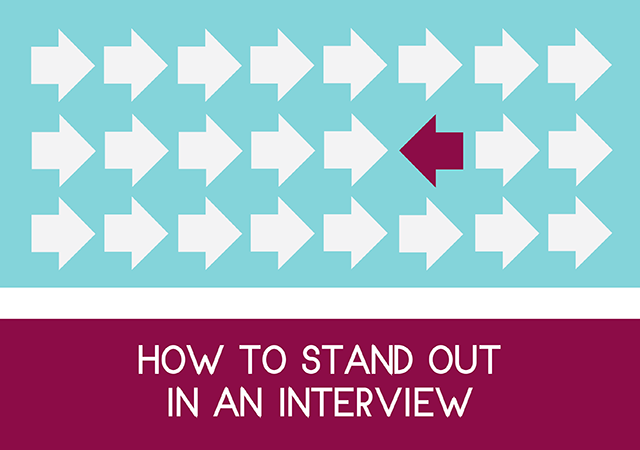 how to stand out in an interview event flyer