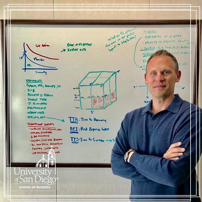Justin Crachy, BSS, Procurement & Finance, MS-SCM, Supply Chain Management