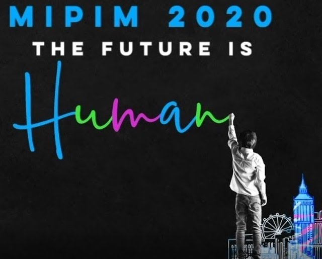 Photo is of the MIPIM 2020 Logo