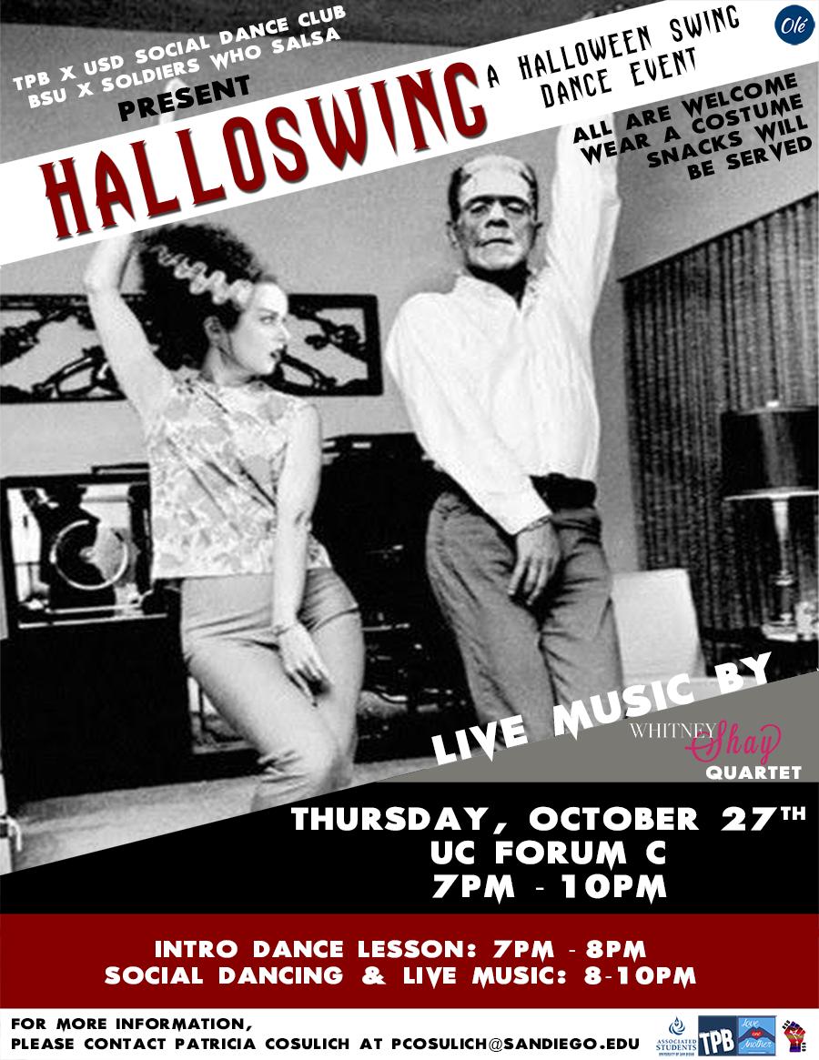 Halloswing:  Halloween Swing Dance Event