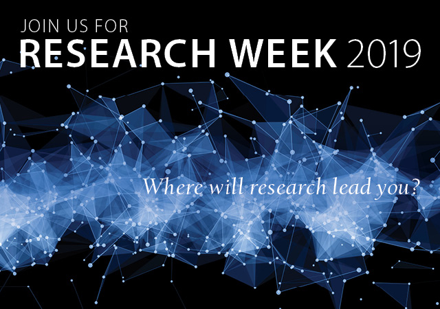 Research Week 2019 Save the Date