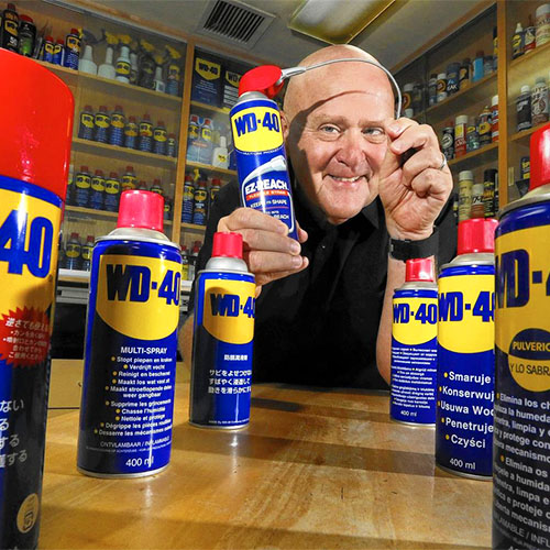 Garry Ridge, USD alumni and CEO of WD-40 Co.