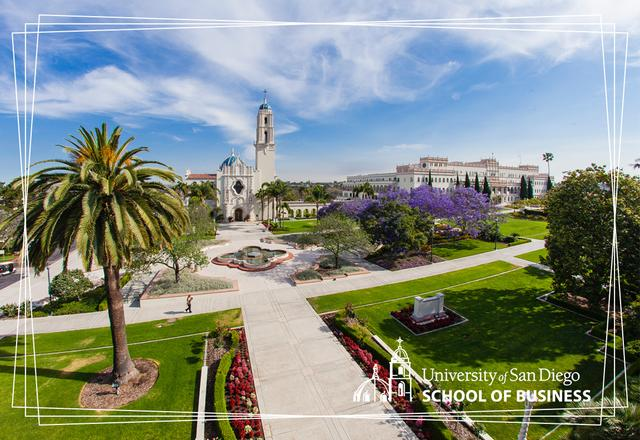 The campus at the University of San Diego
