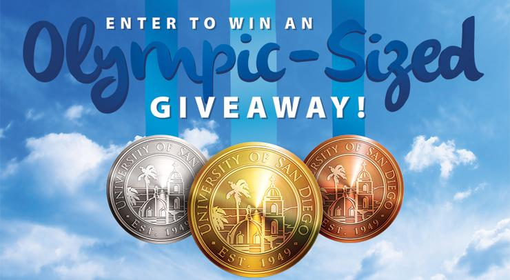 Enter to Win an Olympic Sized Giveaway!