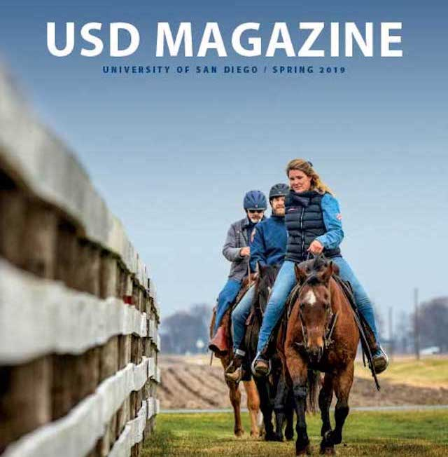 USD Magazine Spring 2019 Cover