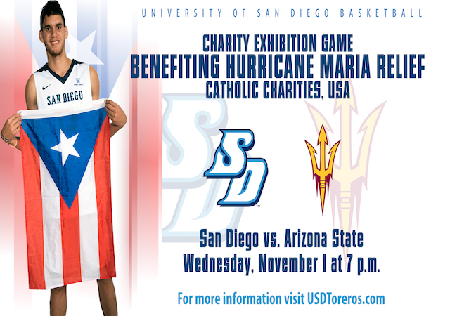 USD Charity Basketball Game