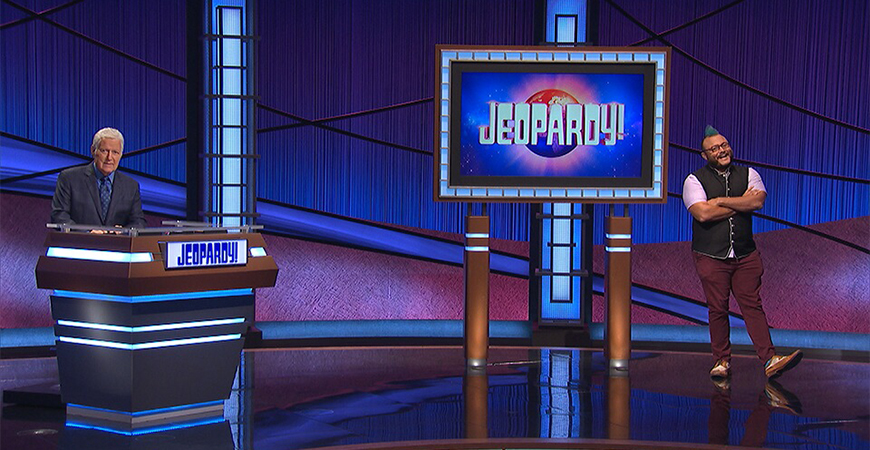 History professor T.J. Tallie on Jeopardy Dec. 1, 2020