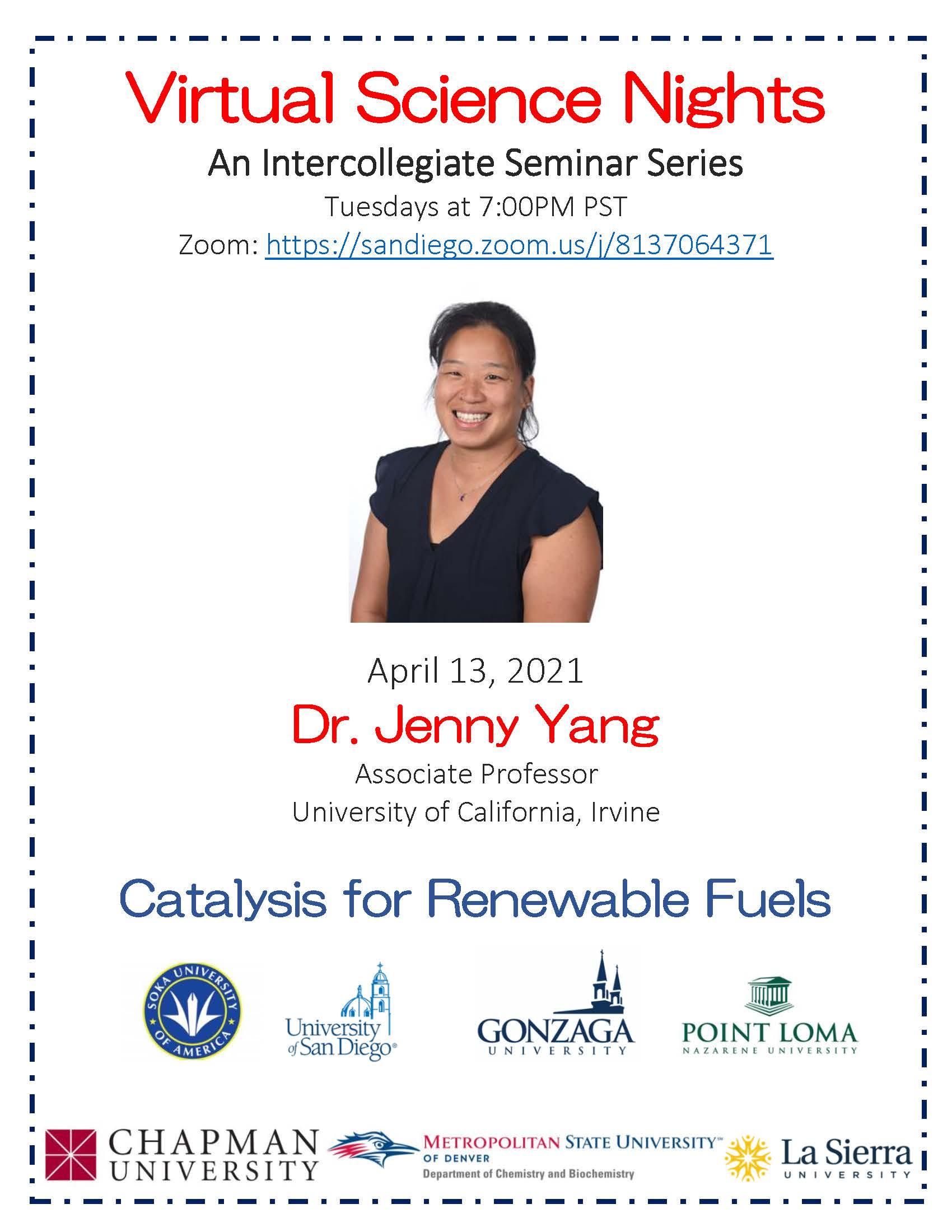 Seminar Flyer - Yang