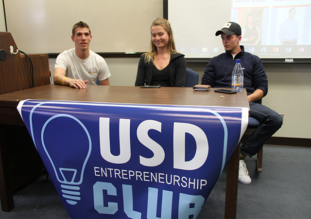 Entrepreneurship Club speakers
