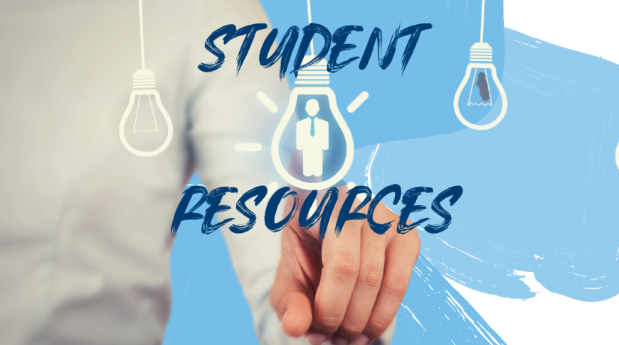 Image is of Student Resources