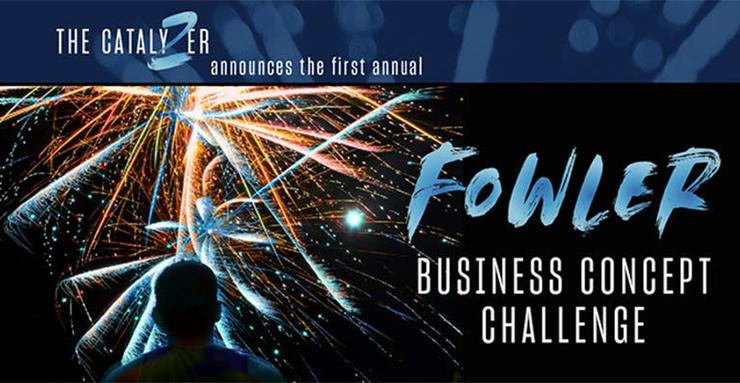 The Fowler Business Concept Challenge is sponsored by the Entrepreneurship and Innovation Catalyzer at the USD School of Business