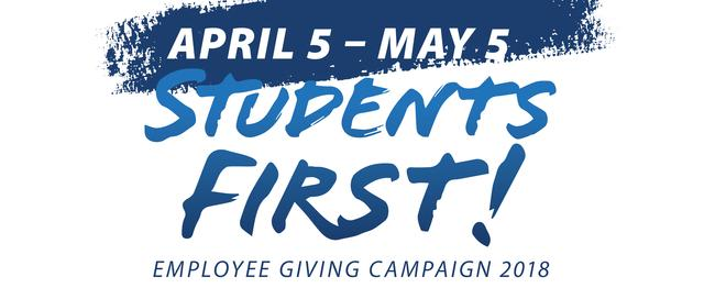 students first campaign logo