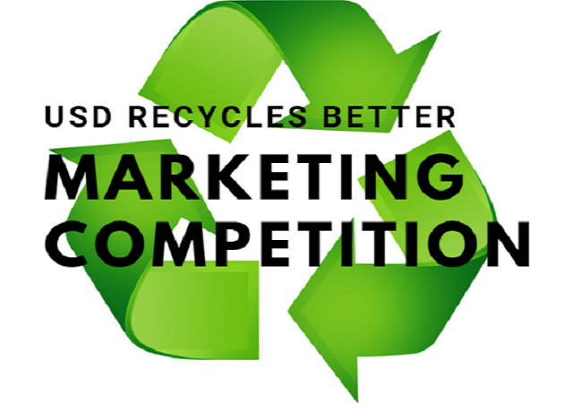 USD Recycles Better Marketing Competition Graphic