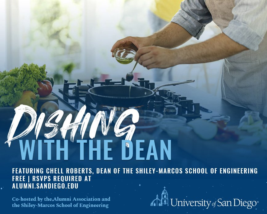 Dishing with the Dean