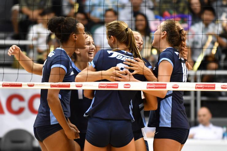 USD Volleyball Team