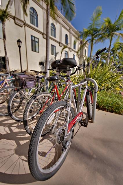 Bikes at USD